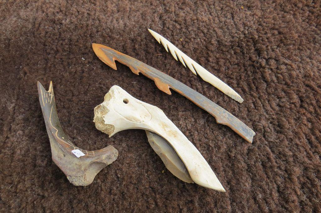 Outils de chasse et de peche
