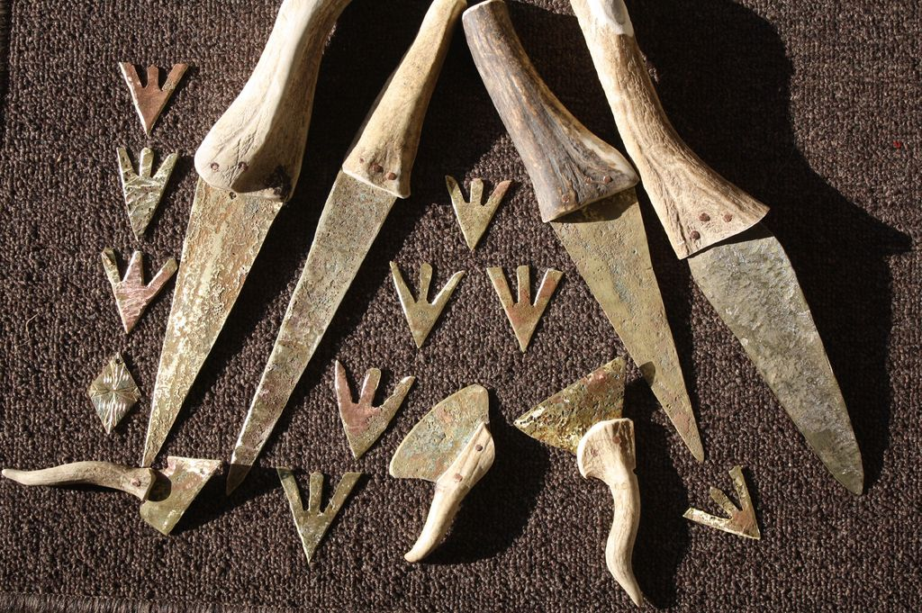 Outils et armes en bronze